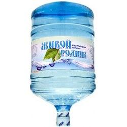 Вода питьевая Живой Родник 19л